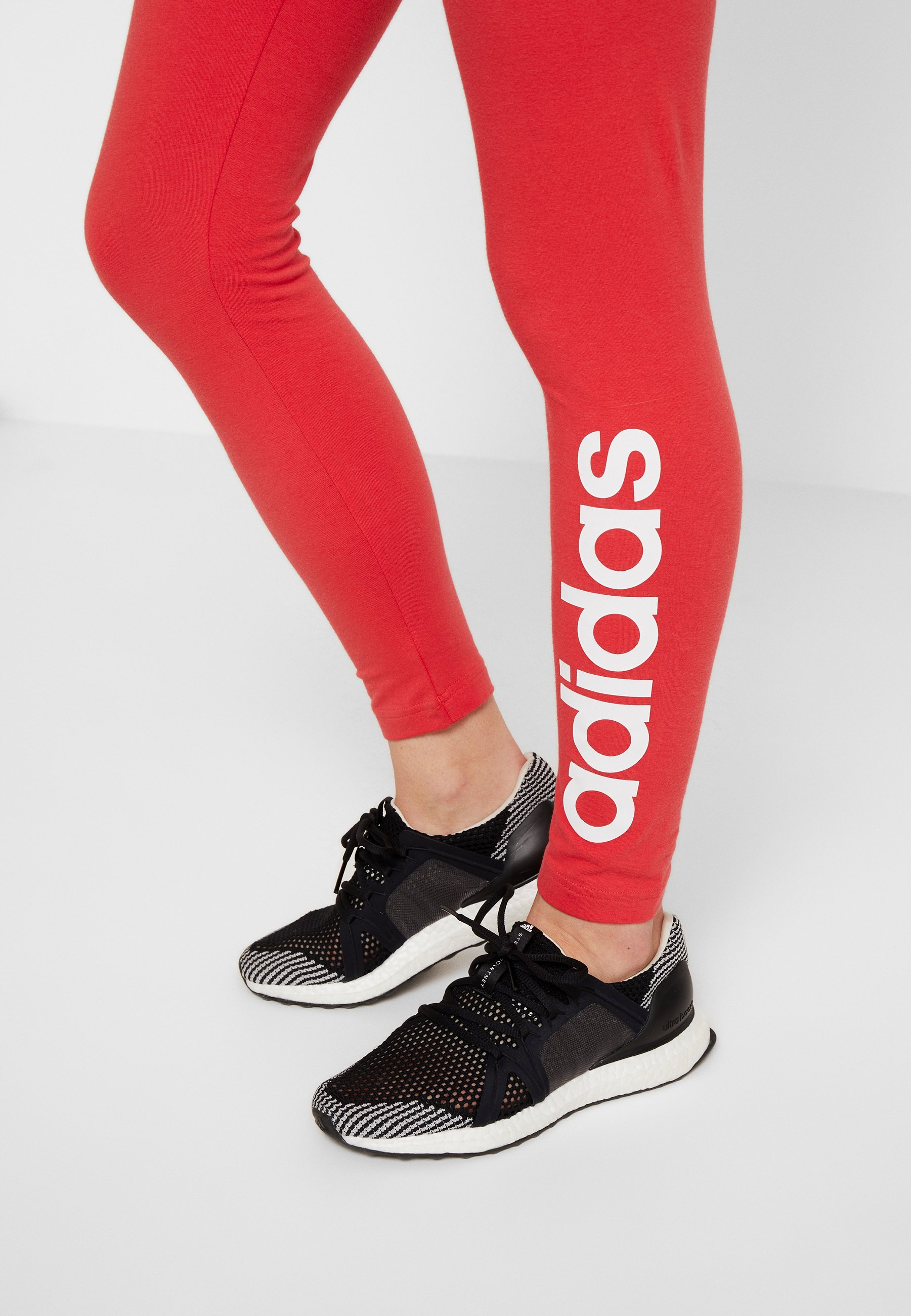 Adidas Performance Lin - Collants Red/white