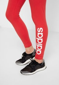 adidas Performance - LIN - Collant - red/white - 4