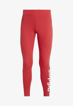 LIN - Leggings - red/white