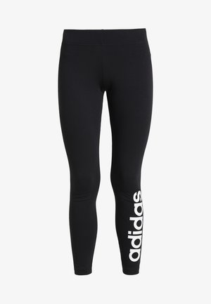LIN - Legging - black/white