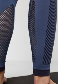 adidas Performance - SPORT PRIMEKNIT LEGGINGS - Collants - dark blue - 3