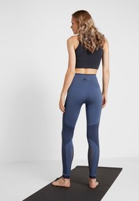 adidas Performance - SPORT PRIMEKNIT LEGGINGS - Collants - dark blue - 2