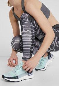 adidas Performance - SPORT HIGH WAIST 7/8 LEGGINGS - Collants - grey - 4