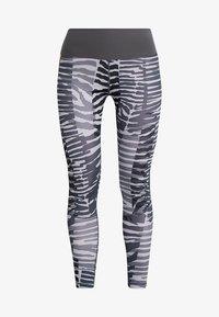 adidas Performance - SPORT HIGH WAIST 7/8 LEGGINGS - Collants - grey - 3