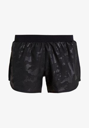 SHORT CAMO - Sportovní kraťasy - black