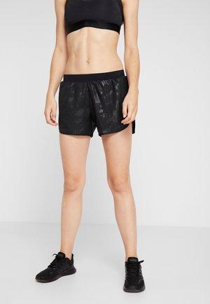 SHORT CAMO - Pantalón corto de deporte - black