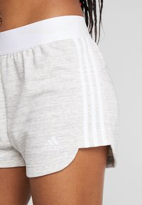 adidas Performance - SHORT - Urheilushortsit - grey/white - 4