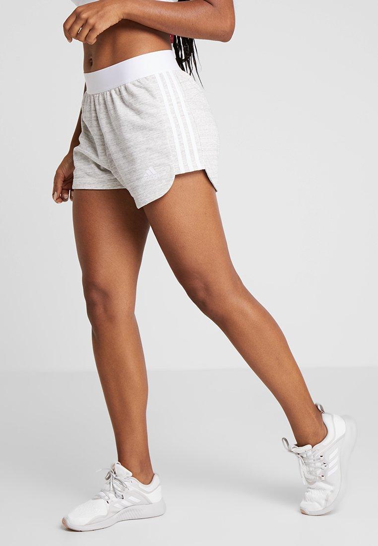 adidas Performance - SHORT - Short de sport - grey/white