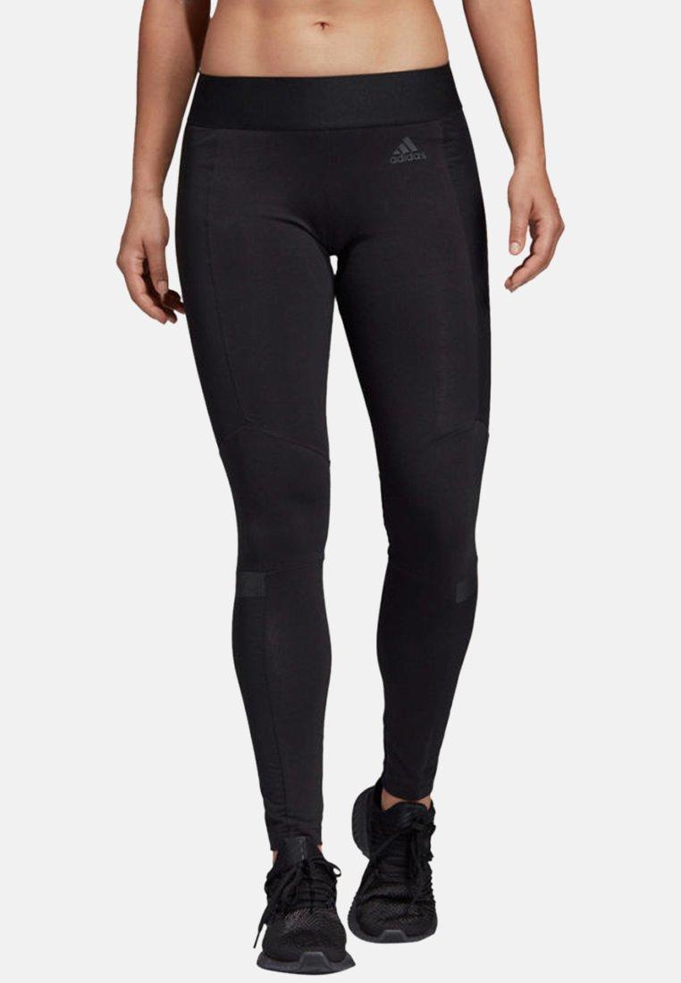 adidas Performance - ID WND Tights - Legginsy - black