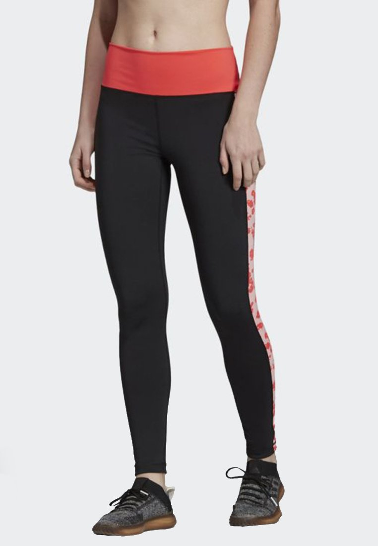 adidas Performance - BELIEVE THIS HIGH-RISE ITERATION LONG LEGGINGS - Collant - black