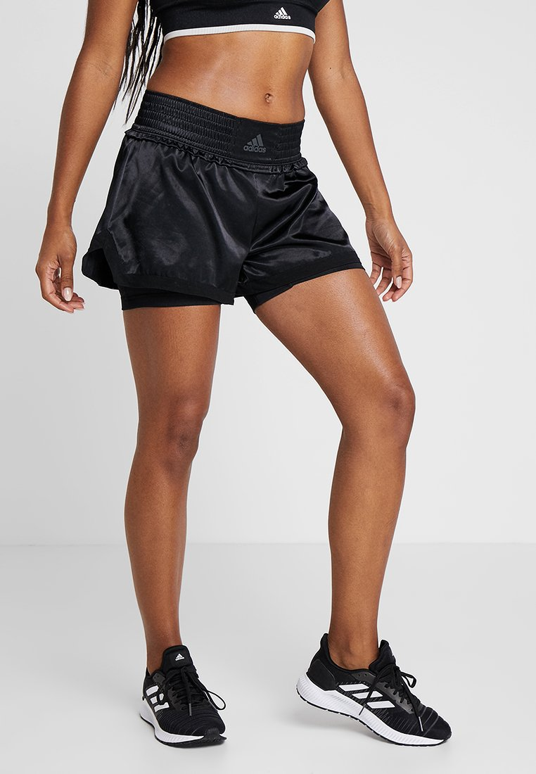 adidas Performance - BOX SHORT - kurze Sporthose - black