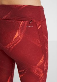 adidas Performance - OWN THE RUN - Medias - coral/dark red - 3