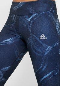 adidas Performance - OWN THE RUN - Punčochy - blue - 5