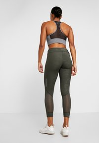 adidas Performance - OWN THE RUN TGT - Leggings - legend earth - 2
