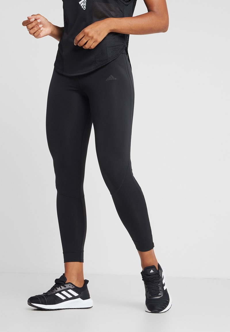 adidas Performance - OWN THE RUN - Collants - black