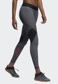 adidas Performance - ALPHASKIN BADGE OF SPORT LEGGINGS - Collant - black - 3