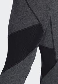 adidas Performance - ALPHASKIN BADGE OF SPORT LEGGINGS - Collant - black - 5