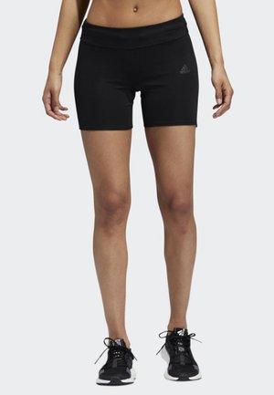 OWN THE RUN SHORT TIGHTS - Sports shorts - black