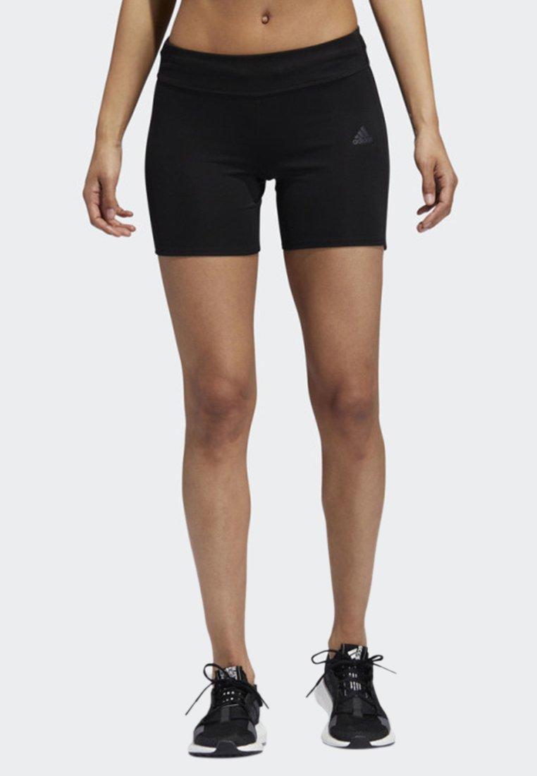 adidas Performance - OWN THE RUN SHORT TIGHTS - kurze Sporthose - black