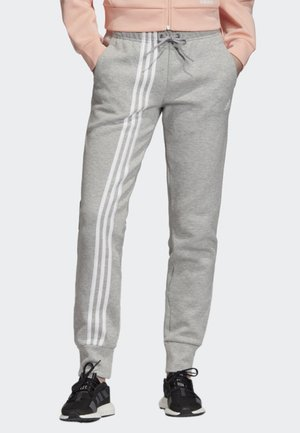 MUST HAVES 3-STRIPES JOGGERS - Träningsbyxor - grey
