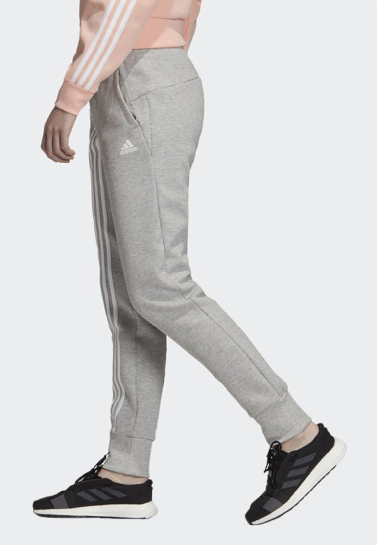 adidas Performance MUST HAVES 3-STRIPES JOGGERS - Jogginghose - grey