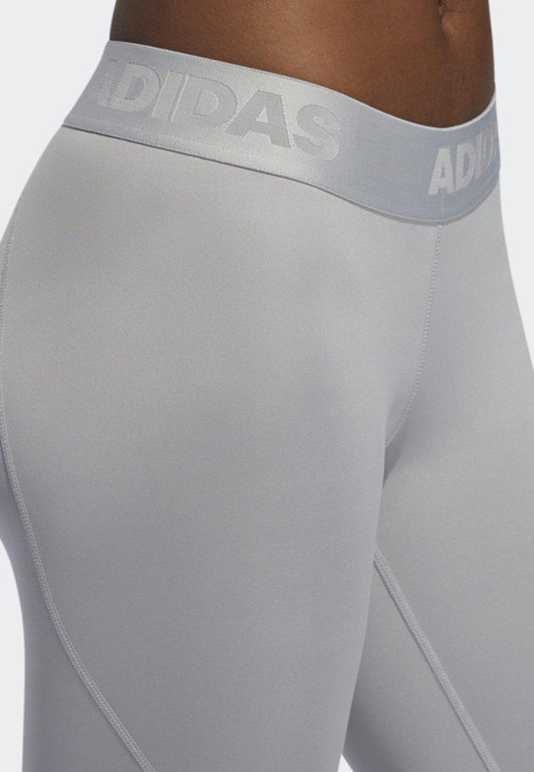 Alphaskin Long Grey Adidas Sport Performance LeggingsCollants iOPkXZTu