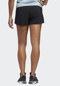 adidas Performance - TWO-IN-ONE WOVEN SHORTS - Sports shorts - black - 1
