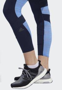 adidas Performance - HOW WE DO 7/8 LIGHT LEGGINGS - Collants - blue - 3