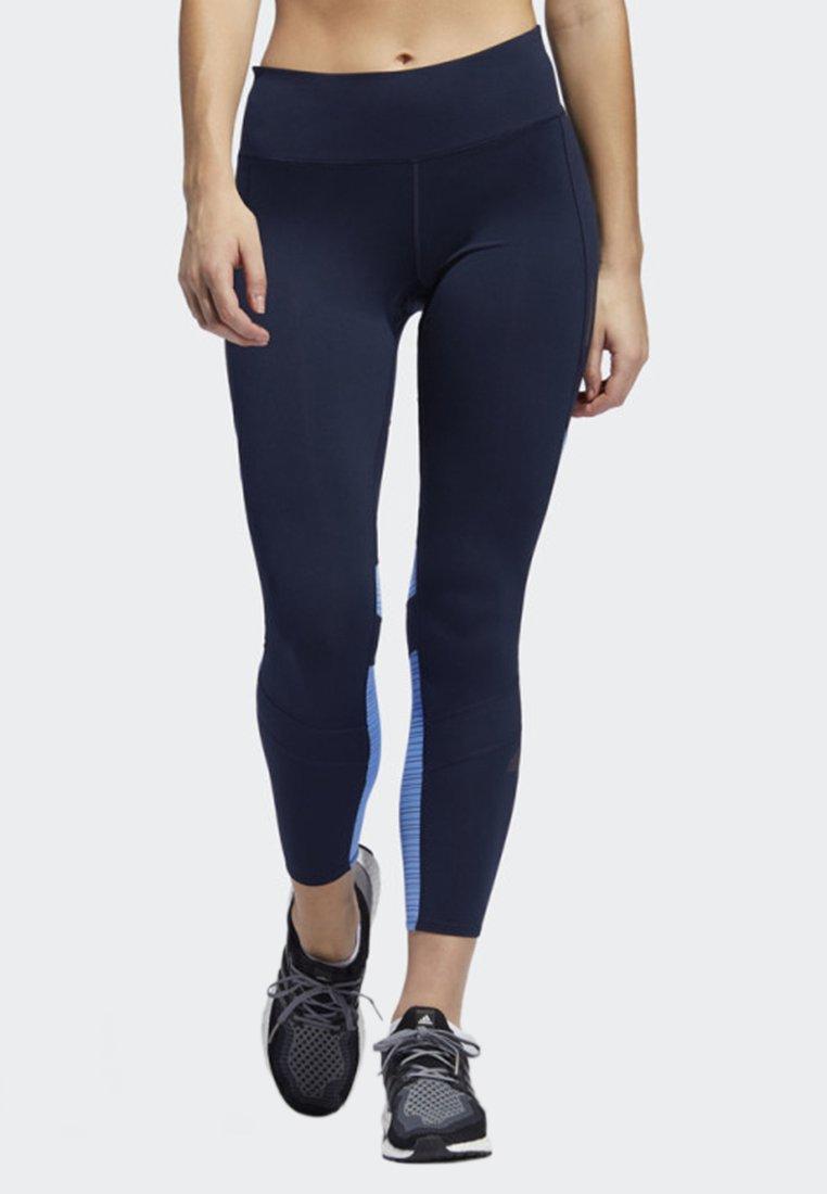 adidas Performance - HOW WE DO 7/8 LIGHT LEGGINGS - Collants - blue