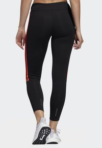 adidas Performance - RUNNING 3-STRIPES LEGGINGS - Tights - black - 1