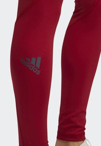 adidas Performance - ALPHASKIN SPORT LONG LEGGINGS - Collants - red - 5