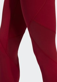adidas Performance - ALPHASKIN SPORT LONG LEGGINGS - Collants - red - 4