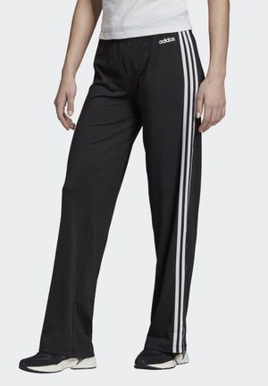 DESIGNED 2 MOVE 3-STRIPES JOGGERS - Verryttelyhousut - black