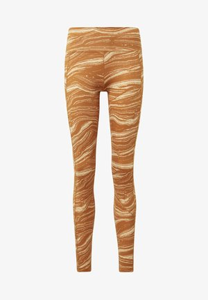 BELIEVE THIS WANDERLUST LEGGINGS - Tights - orange