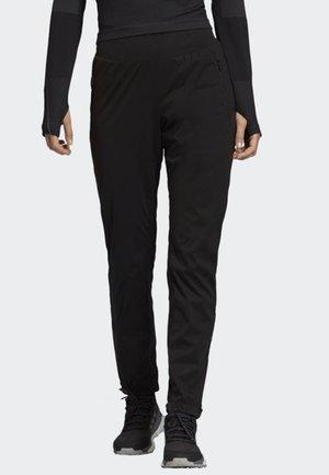 XPERIOR TRACKSUIT BOTTOMS - Spodnie materiałowe - black