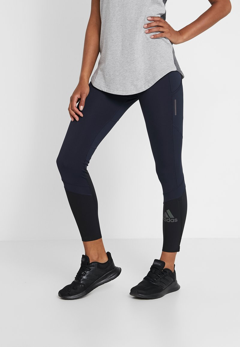adidas Performance - HOW WE DO - Leggings - legend ink