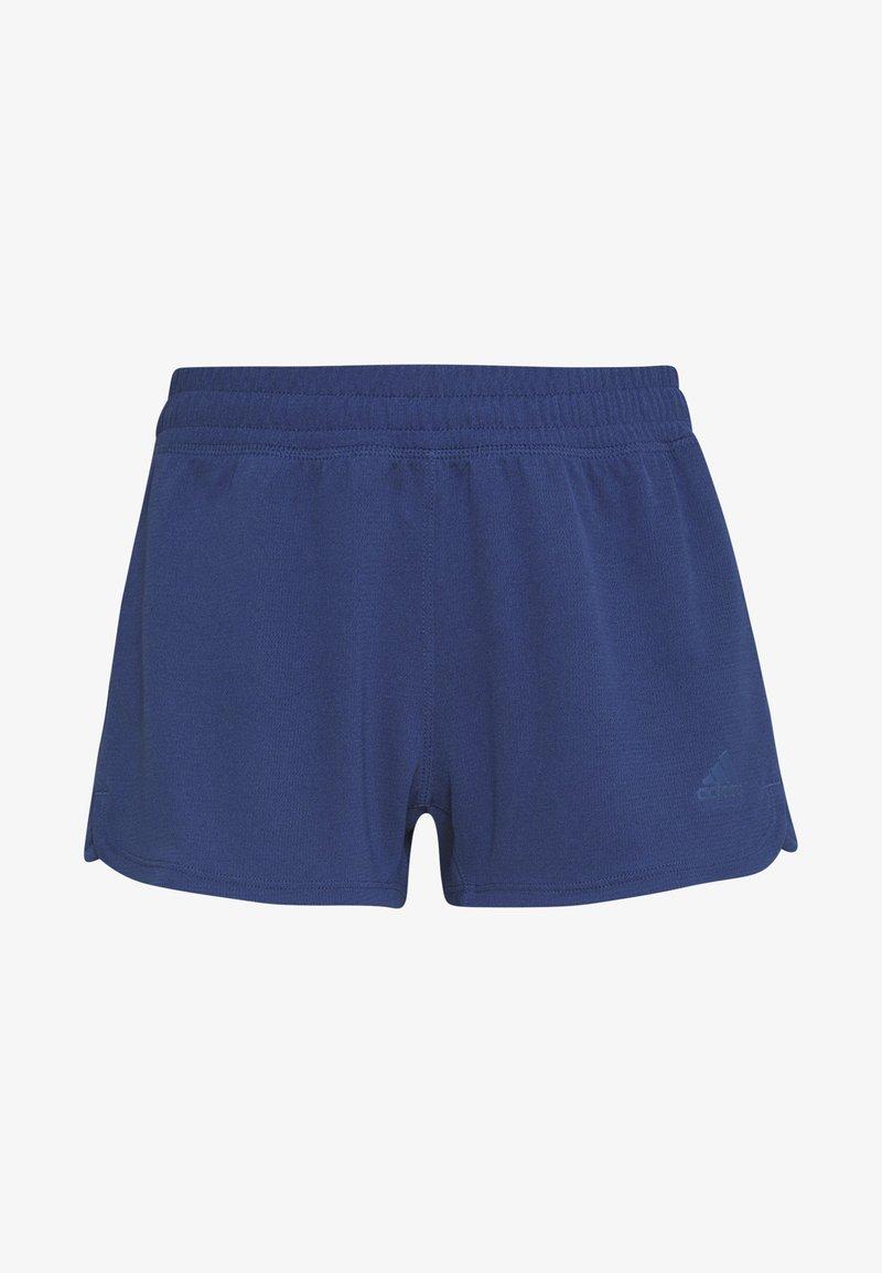 adidas Performance PACER SHORTS - Sports shorts - dark blue/white