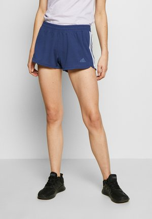 PACER SHORTS - Korte broeken - dark blue/white