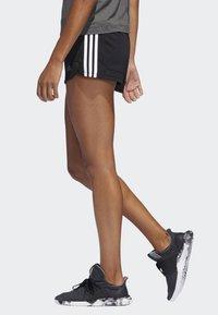 adidas Performance - PACER SHORTS - Urheilushortsit - black - 2