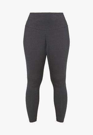 Leggings - solid grey/purple tint