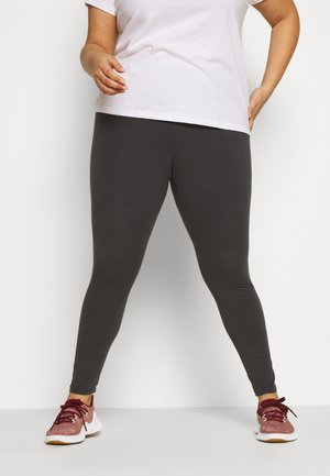 Legging - solid grey/purple tint