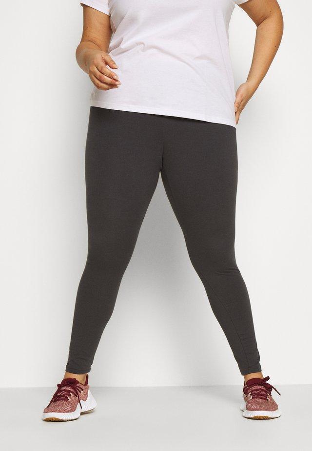 ESSENTIALS TRAINING SPORTS LEGGINGS - Punčochy - solid grey/purple tint