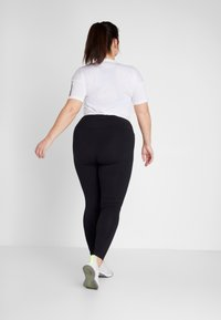 adidas Performance - ESSENTIALS TRAINING SPORTS LEGGINGS - Leggings - black/white - 2