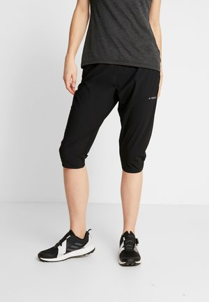 TERREX EXPLORE CAPRI - 3/4 sports trousers - black