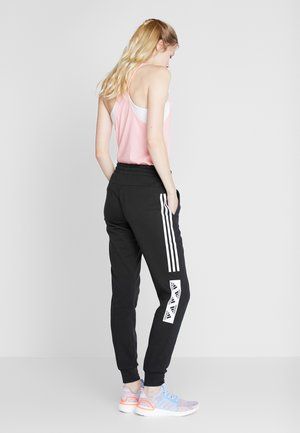 BLOCK PANT - Tracksuit bottoms - black