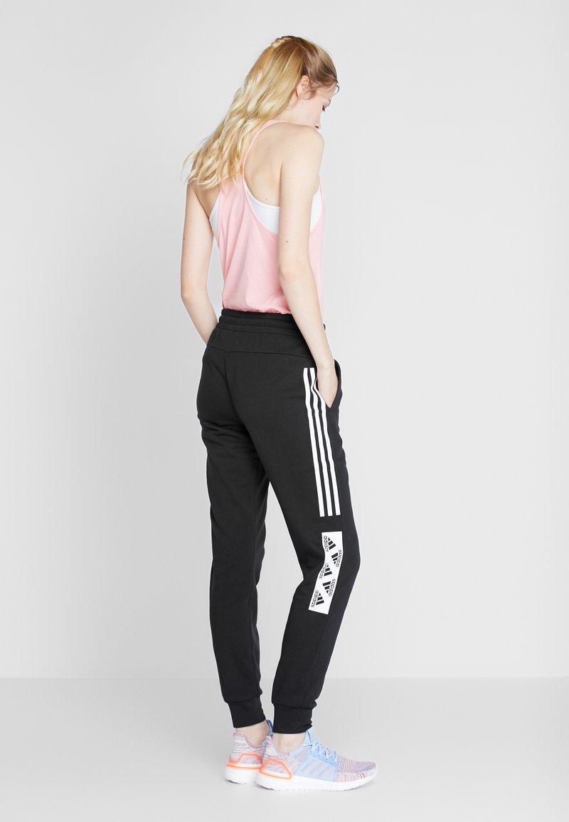 adidas Performance - BLOCK PANT - Pantalones deportivos - black