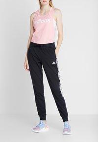 adidas Performance - BLOCK PANT - Pantalones deportivos - black - 2