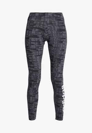 ESSENTIALS SEASONAL SPORT LEGGINGS - Legginsy - black