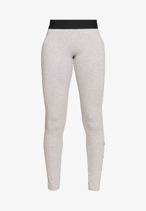 ESSENTIALS SPORT INSPIRED COTTON LEGGINGS - Legginsy - grey/black