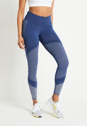 PRIMEKNIT - Leggings - tech indigo/grey